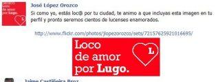 El alcalde de Lugo publica una carta de amor a la ciudad