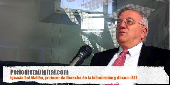 """Ignacio Bel, profesor de Derecho de la Información y dircom del IESE: """"En Periodismo hay muchos estudiantes que van a clase a vegetar"""""""