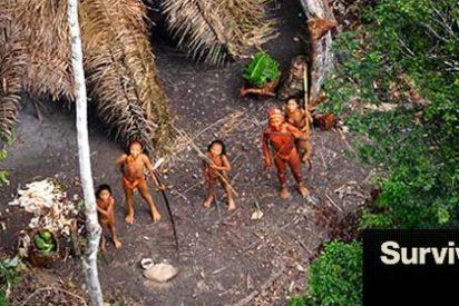 Captan fotografías de una tribu indígena aislada en medio del Amazonas