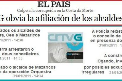 'El País' denuncia una actitud tendenciosa de la CRTVG