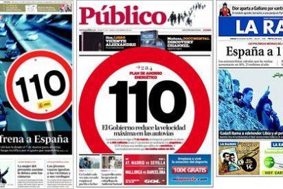 Zapatero: de la economía sostenible a la prohibición insostenible