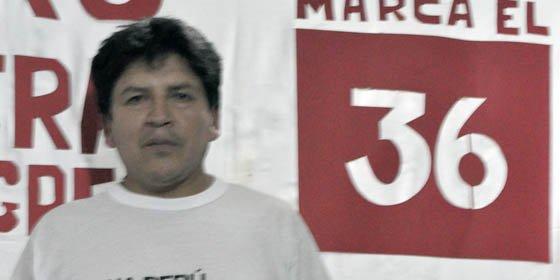 """Partido de Ollanta Humala presentó en Madrid """"y en tinieblas"""" a su candidato al congreso peruano"""