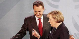 Merkel pone más deberes a Zapatero