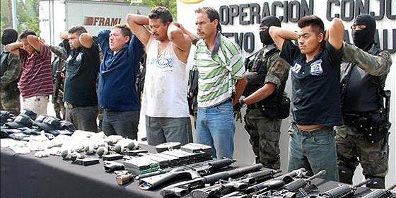 EEUU detiene a más de 400 'narcos' mexicanos durante una investigación