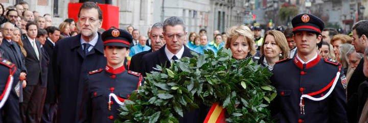 """Las Comunidad de Madrid rinde homenaje a las víctimas del """"11 M"""""""