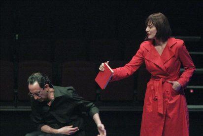 Sánchez-Gijón recita la obra de tres autores en el Teatro Español de Madrid