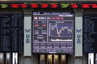 La bolsa española abre la semana con pérdidas y el IBEX cae el 0,21 por ciento