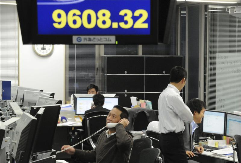 El Nikkei sube 101,12 puntos, el 1,07 por ciento, hasta 9.536,13 puntos
