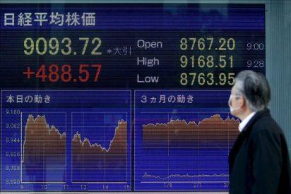 El Nikkei baja 57,60 puntos, el 0,6 por ciento, hasta 9.478,53 enteros