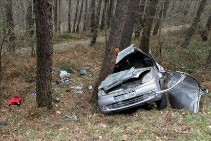 Mueren cinco personas en las carreteras durante el fin de semana