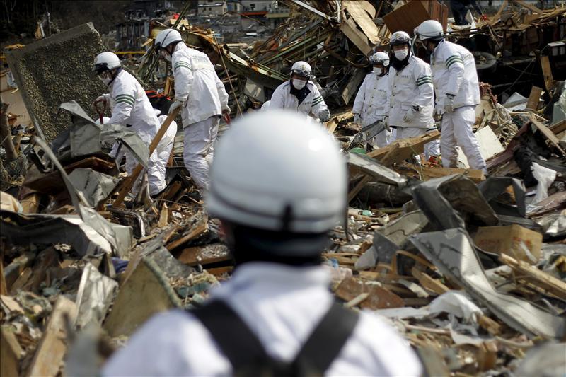 Los muertos en el gran terremoto de Japón superan los 11.000