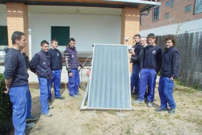 La Diputación fomenta la formación de técnicos en energías renovales