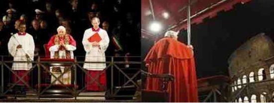 Dos mujeres protagonizarán el Via Crucis del Papa en el Coliseo