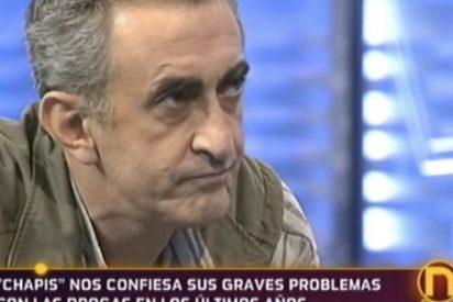 """El presentador Chapis ('¡Qué me dices!) reaparece en 'La Noria' tras 12 años de silencio: """"Consumí cocaína mientras trabajaba en T5"""""""