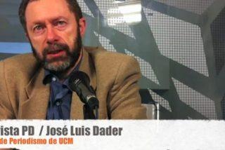 """Jose Luis Dader, profesor de la Universidad Complutense de Madrid: """"El periodista está para representar los intereses del público, no de los políticos"""""""