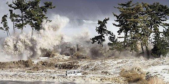 Galeria con nuevas imagenes del tsunami japonés