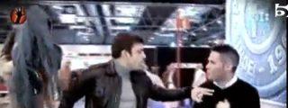 """Los guardaespaldas de la novia de Cristiano Ronaldo atacan a un equipo de 'Sálvame': """"¡A la chica no la toques, sinvergüenza!"""""""