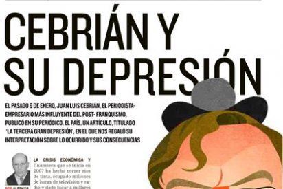 'Cebrián y su Depresión' o cómo Pedrojota psicoanaliza en Actualidad Económica a su archienemigo mediático