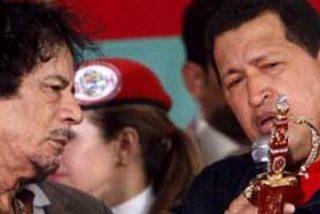 Hugo Chávez propuso a Gadafi la mediación de una Comisión de Paz