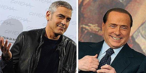 Berlusconi cita como testigos en su defensa a George Cloney y Cristiano Ronaldo