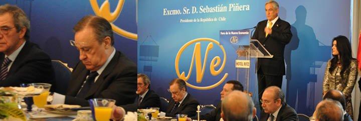 "Sebastián Piñera y las ""cabezadas"" de Florentino Pérez"