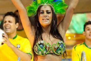 Larissa Riquelme conquista el Carnaval de Sao Paulo