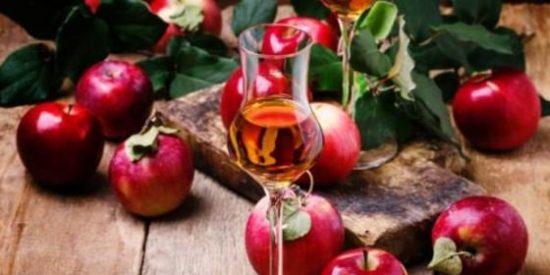 Licor de manzana casero, receta fácil