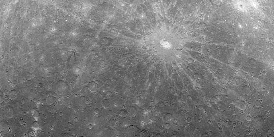 La primera foto del planeta Mercurio... hecha de cerca