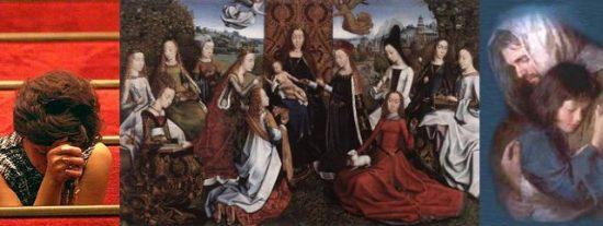 """""""En el día de la mujer, pedimos a la Iglesia que también sean mujeres las que puedan elegir al Papa y a sus obispos"""""""