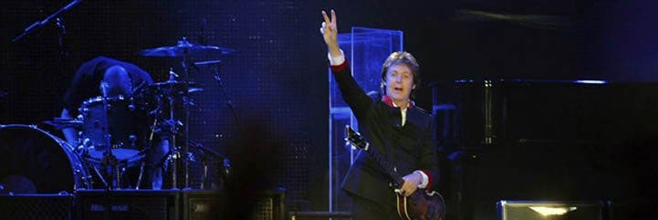 La leyenda del rock mundial Paul McCartney actuará en Lima