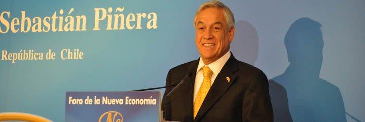 """Sebastián Piñera pide """"mucha más inversión española"""" en Chile"""