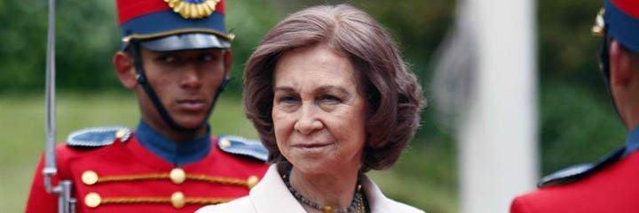 La Reina Sofía, de viaje solidario por Colombia y Ecuador