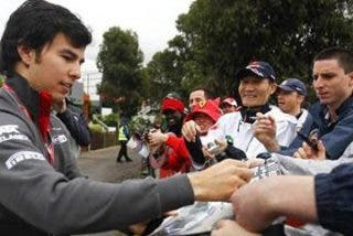 "Sergio Pérez, ""de la gloria a la nada"" en el GP de Australia"
