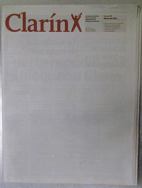 Kirchner envía a sus salvajes piqueteros a 'apretar' a Clarín