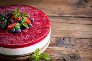 Tarta de queso sin horno, receta fácil