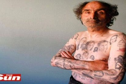 Un fan de Julia Roberts se tatua su cara ¡82 veces!