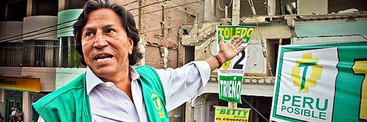 Correlatos de Alejandro Toledo hacia la presidencia del Perú