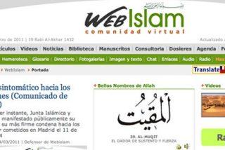 Musulmanes españoles de 'Webislam', aliados de Gadafi