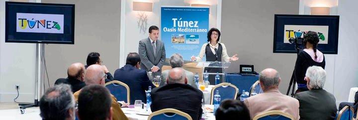 """""""En Túnez estamos viviendo una transición democrática y queremos vivirla con los españoles"""""""