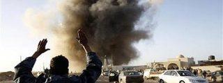 Gadafi usa bombas de racimo fabricadas en España