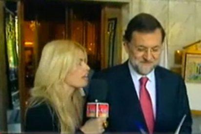 """Rajoy vuelve a caer en las redes de la 'maciza' de 'Sálvame' y le dedica """"con cariño"""" su biografía"""