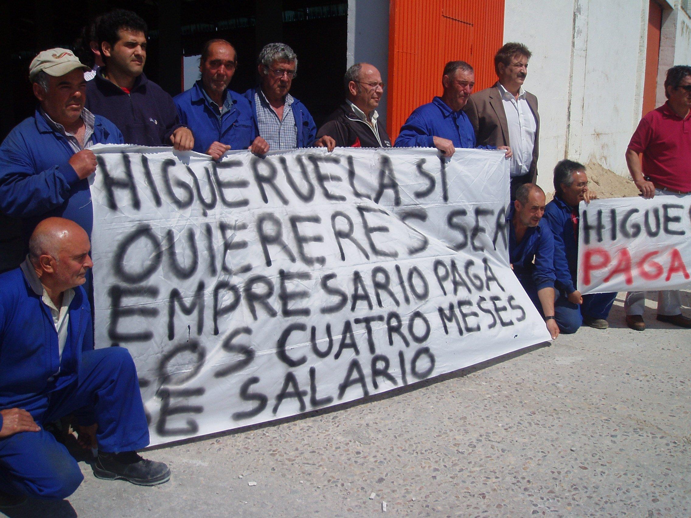 Los obreros de Talaverana Viguetas Hnos. Higueruela llevan dos meses sin cobrar
