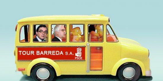 Obligan al PSOE de Barreda a quitar las excursiones guiadas para mostrar las obras realizadas esta legislatura