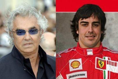 "Flavio Briatore: ""Alonso quiso ir a Ferrari a cualquier precio"""