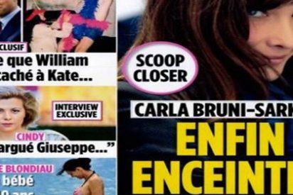 Carla Bruni, ¿embarazada?