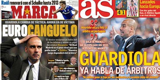 La prensa deportiva madrileña activa el 'cagómetro' blaugrana