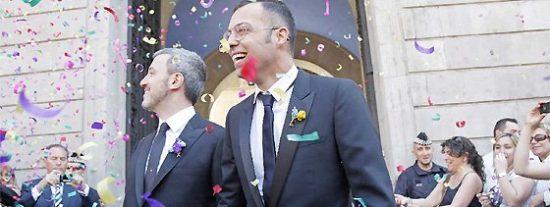 El creador de 'Sálvame' y 'La Noria', Óscar Cornejo, se casa con el diputado del PSC Jaume Collboni