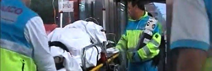 Un tren amputa las dos piernas a un joven en Leganés