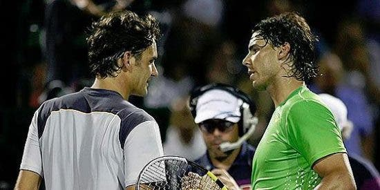 Nadal barrió a Federer y se verá en la final con Djokovic