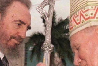 Bertone revela la buena sintonía entre Juan Pablo II y Fidel Castro